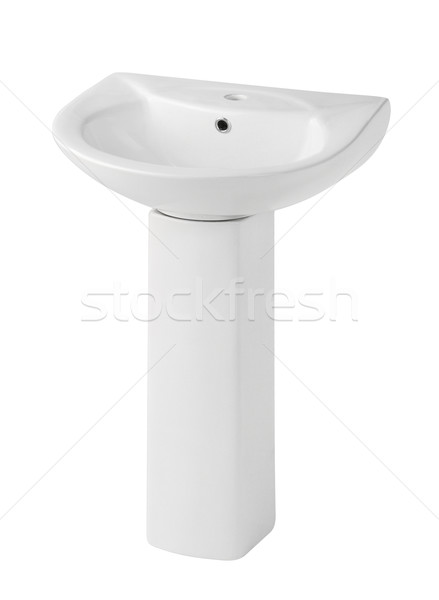 Beautiful design of the washbasin isolated Stock photo © JohnKasawa
