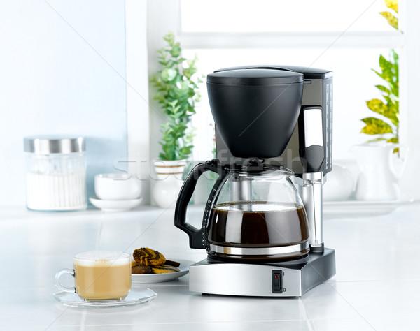 Coffee blender machine tool  Stock photo © JohnKasawa