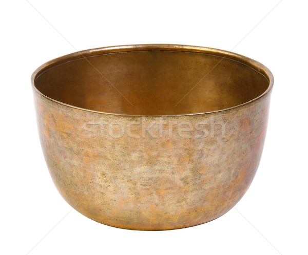 Ancient bowl for special ceremony on white  Stock photo © JohnKasawa