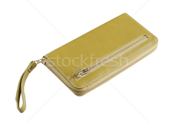 Beautiful lady wallet genuine leather made a nice accessories Stock photo © JohnKasawa