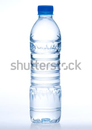 Empty and clear drinking water bottle needed you to putting a ne Stock photo © JohnKasawa