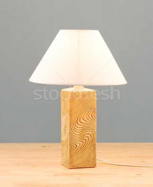лампы освещение свет мебель белый электрических Сток-фото © JohnKasawa