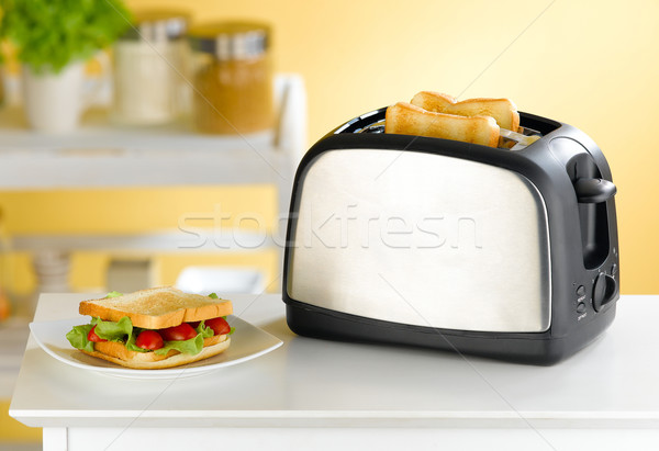 Bread toaster  Stock photo © JohnKasawa