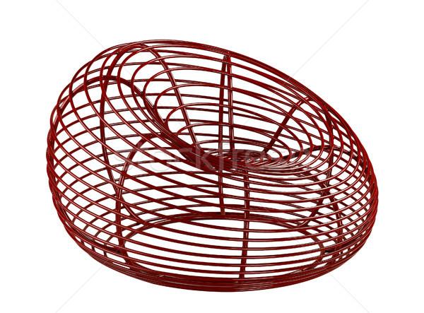 Great idea to makes steel to be a nice curve armchair  Stock photo © JohnKasawa