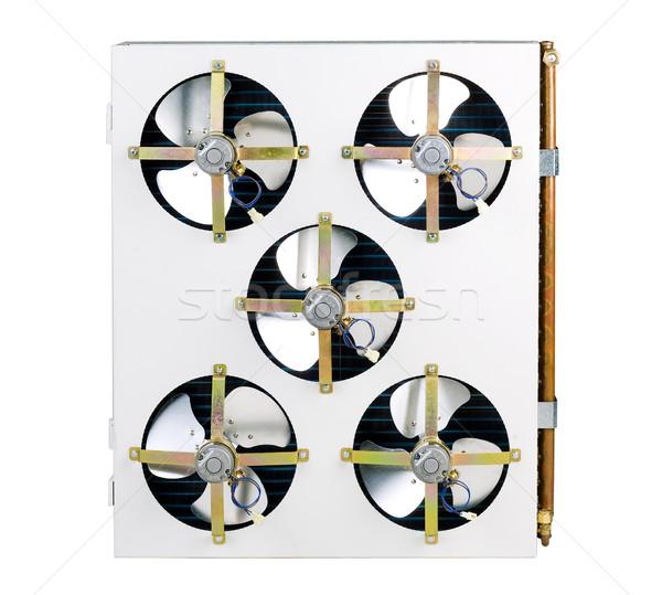 空気 ユニット 冷却 バス 建物 ストックフォト © JohnKasawa