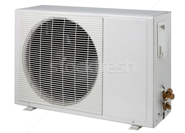 Air condition condenser unit isolated  Stock photo © JohnKasawa
