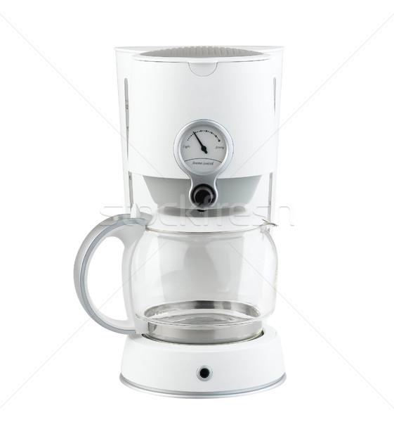 Kahve öğütücü makine modern mutfak araç Stok fotoğraf © JohnKasawa