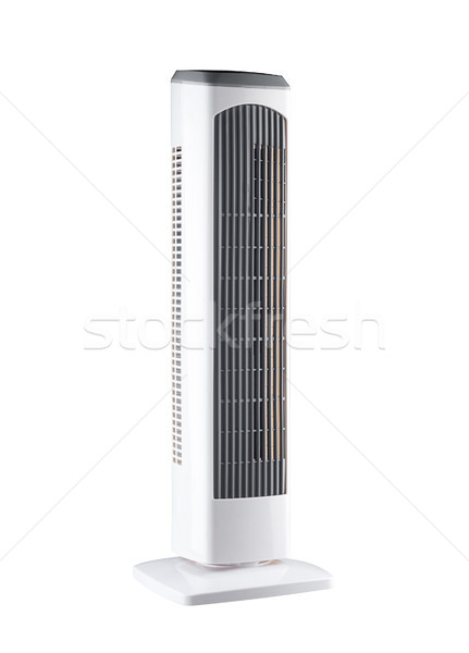 Electric tower cooling fan, putting ice or cold water into the t Stock photo © JohnKasawa