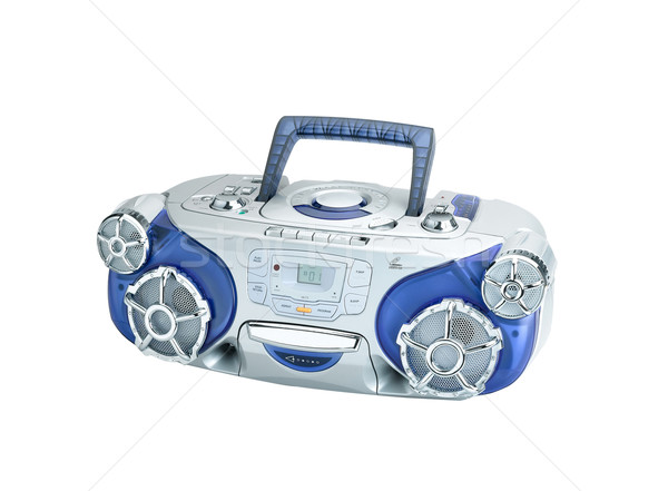 Audio DVD CD player for your home entertainment or outdoor picni Stock photo © JohnKasawa