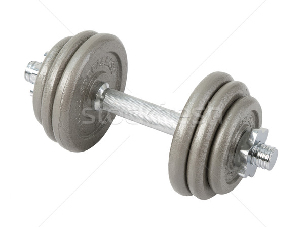 Smart your muscle with arm dumbbell  Stock photo © JohnKasawa