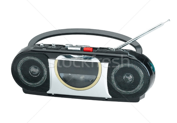The classical cassette tape radio recorder and player Stock photo © JohnKasawa
