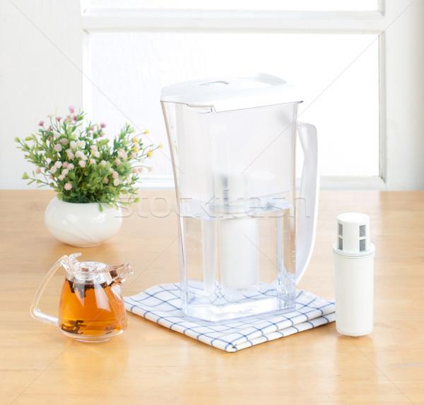 Kettle purify drinking filter machine tool  Stock photo © JohnKasawa