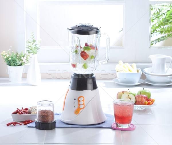Multiple purpose blender machine great for blending foods and ju Stock photo © JohnKasawa