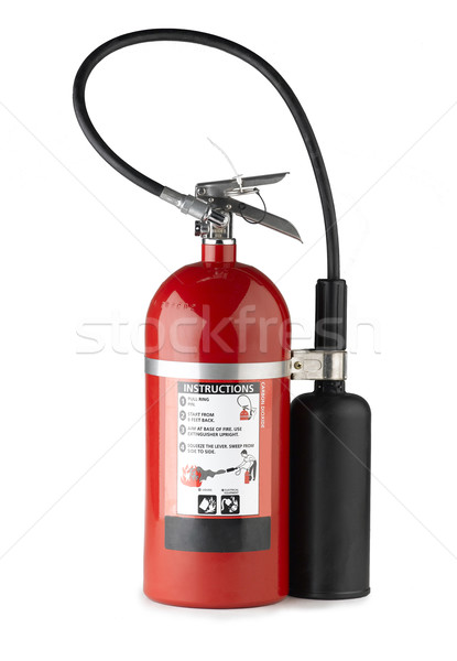 Handheld fire extinguisher more portable and convenience to use  Stock photo © JohnKasawa
