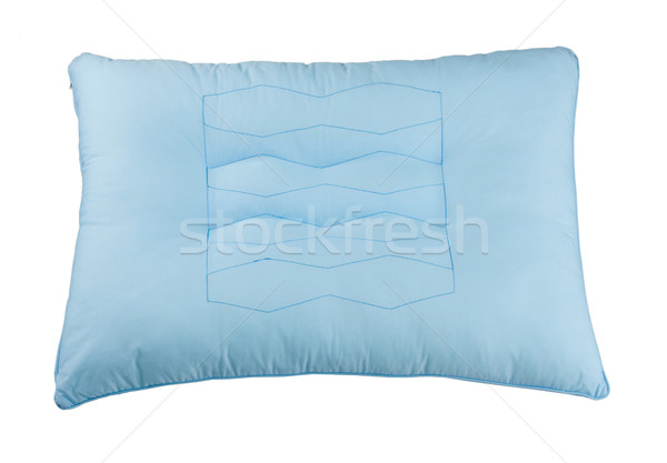 Nice light blue pillow to supporting your seat Stock photo © JohnKasawa
