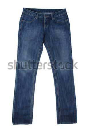 Jean a popular trouser isolated  Stock photo © JohnKasawa