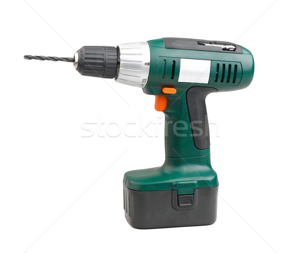 Cordless drill screwdriver more convenience and easy to use Stock photo © JohnKasawa