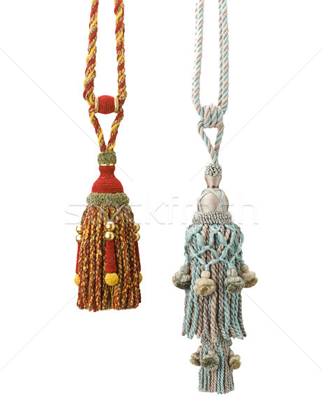 Neat and nice handmade tassels for all curtains decoration  Stock photo © JohnKasawa