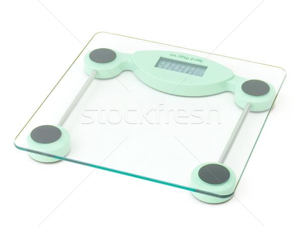 nice digital weight scaling Stock photo © JohnKasawa