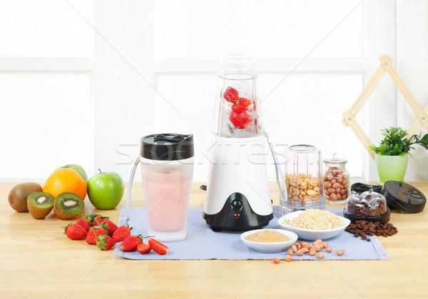 Multiple purpose blender machine great for your blending fruits  Stock photo © JohnKasawa