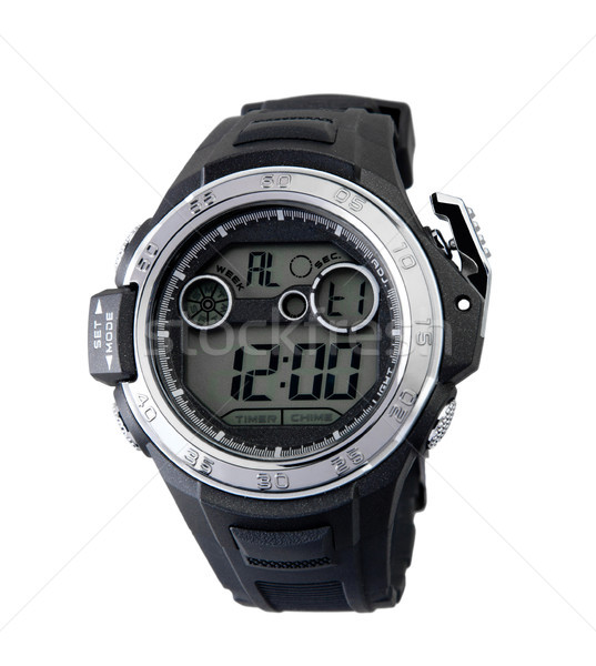 Smart sport style wristwatch your best timepiece accessory Stock photo © JohnKasawa