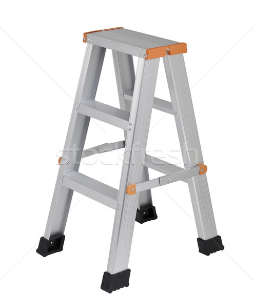 Aluminum ladder Stock photo © JohnKasawa