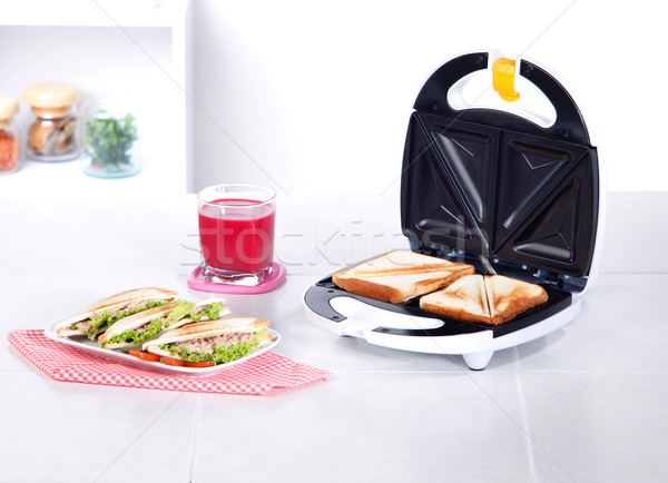 sandwich maker machine in the kitchen  Stock photo © JohnKasawa