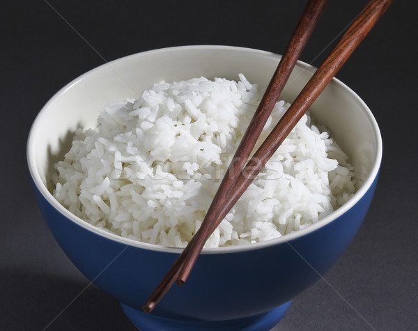 Jasmine rice in a rice bowl  Stock photo © JohnKasawa
