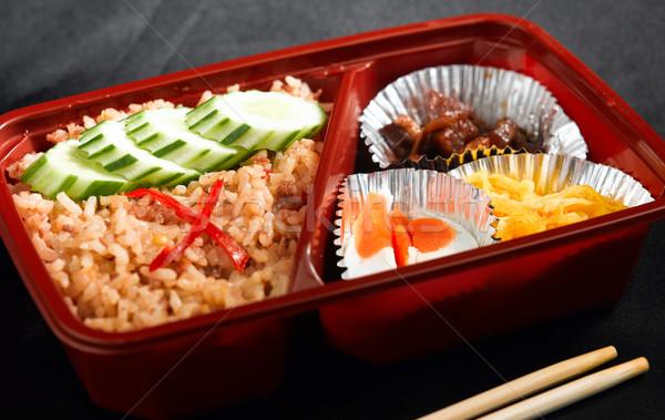 Thai style readymade lunchbox  Stock photo © JohnKasawa