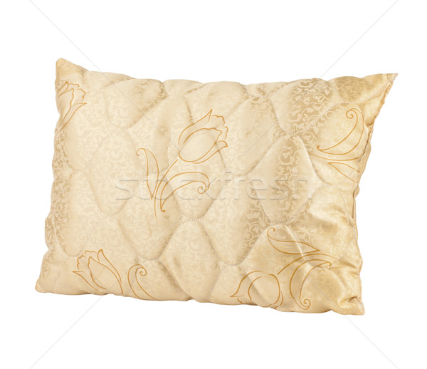 Nice design of fabric tulip flower pattern pillow isolated  Stock photo © JohnKasawa