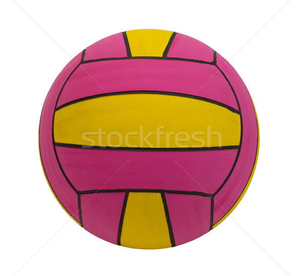 Waterpolo ball the water sporting goods isolated  Stock photo © JohnKasawa
