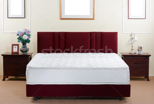 perfect mattress not only beautiful but must be supported anatom Stock photo © JohnKasawa
