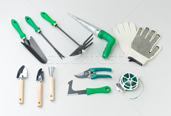Gardener tools for gardening   Stock photo © JohnKasawa