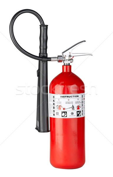 keep this extinguisher to protect your property from fire  Stock photo © JohnKasawa