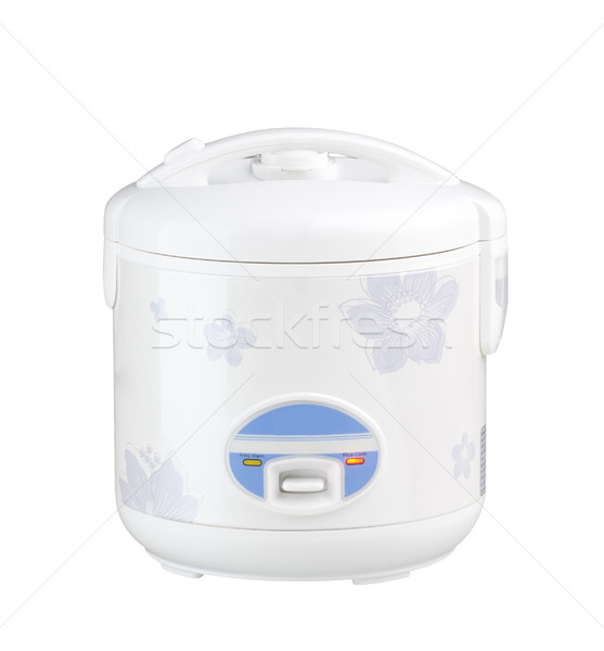Elétrico arroz panela quente temperatura casa Foto stock © JohnKasawa