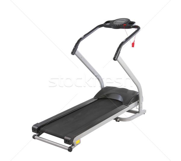 treadmill exercise running track machine isolates  Stock photo © JohnKasawa