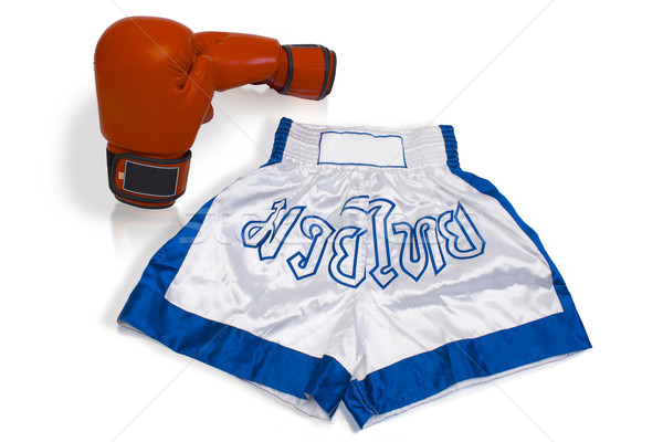 Thai boxing uniform isolated Stock photo © JohnKasawa