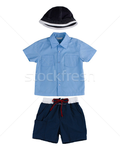 Boy clothes accessories isolated  Stock photo © JohnKasawa