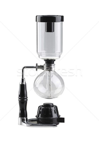 Coffee blending machine tool isolated on white Stock photo © JohnKasawa