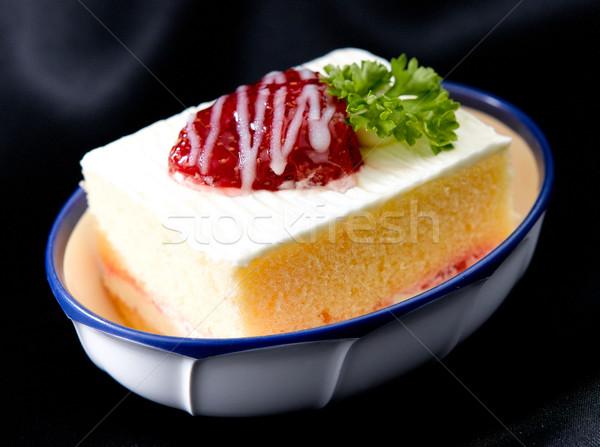 Strawberry cake bowl  Stock photo © JohnKasawa