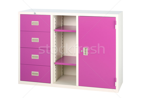 Closet in violet cute useful and hard to find a colorful furnitu Stock photo © JohnKasawa