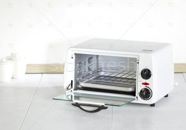 Open lege oven nuttig home apparaat Stockfoto © JohnKasawa