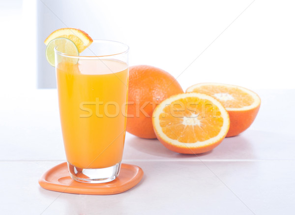 Turuncu portakal suyu muhteşem vücut organ Stok fotoğraf © JohnKasawa