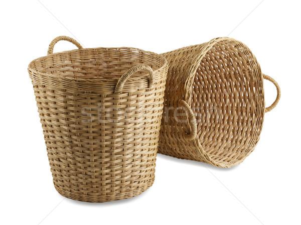 ручной работы корзины старомодный тайский стиль текстуры Сток-фото © JohnKasawa