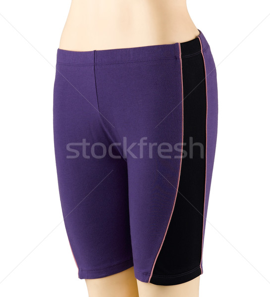 Woman spot exercises short pant Stock photo © JohnKasawa