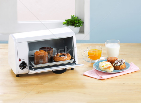 oven or warmer machine tool to makes bakery keep warm Stock photo © JohnKasawa