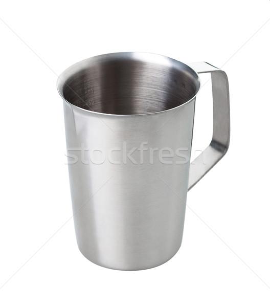 Prata metal copo geral líquido Foto stock © JohnKasawa