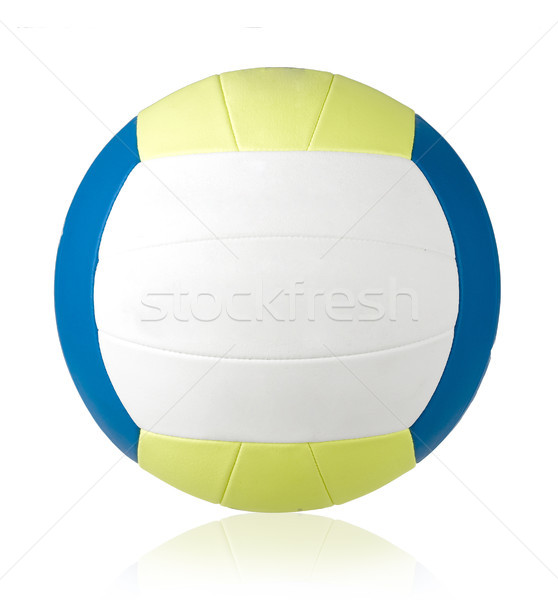 Nice and soft volleyball for indoor or beach games isolated Stock photo © JohnKasawa
