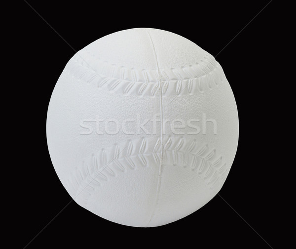 Baseball display isolated on black background Stock photo © JohnKasawa