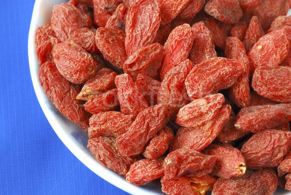 Stockfoto: Bessen · geïsoleerd · Blauw · vruchten · gezondheid · Rood